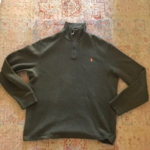 Polo pullover zip up size XL